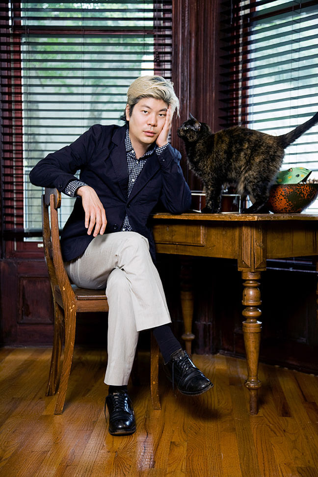 James Iha official cat photo